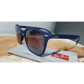 Óculos Sol Ray-ban Rb4297 Wayfarer 6331 8g Azul Liteforce. 8b547101bc