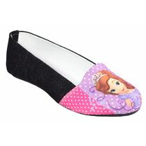 Toreritas De Niña Princesa Sofia Minnie Frozen Zapatos