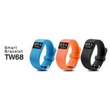 Pulsera Reloj Smart Bracelet Tw68 Ritmo Cardíaco Calorias