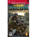 Socom Ee.uu. Navy Seals Fireteam Bravo 2 - Sony Psp