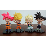 Muñecos Dragon Ball Cabezones Con Base