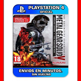 Metal Gear Solid V 5 Ps4 Digital Definitive Experience