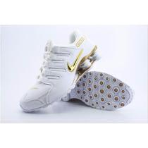 Promoção Tênis Nike Shox4 Molas Academia Caminhada Aproveita