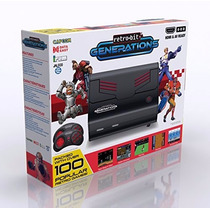 Superness Vídeo Game Retro Bit Famicom 100 Jogos+2 Controles