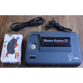 Master System 3 Compact Com Sonic Na Memória + Controle
