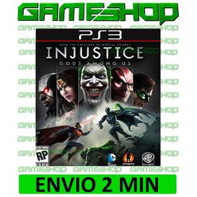 Injustice Gods Among Us Psn Ps3 Original
