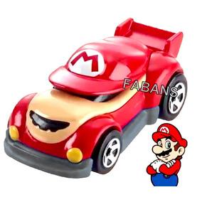 Carro Hotwheel Super Mario Bros Luigi Carrito Juguete Niño