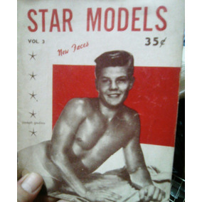 Antigua Revista Erotica Masculina Star Models Usa 1956