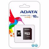 Memoria Micro Sd Adata 16gb Con Adaptador Clase 4