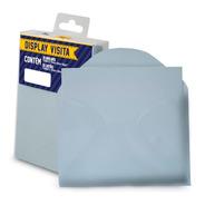 Envelope Visita 115x80 Branco + Cartão Branco Romitec 20 Un