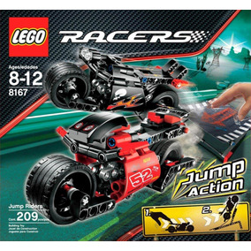 Lego Racers 8167 Motos Auto Hot Rod Escucho Ofertas