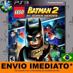 Jogo Lego Batman 2 Dc Super Heroes Ps3 Digital Psn Português