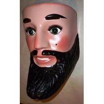 Chinelo Mascara De Fibra Vidrio Danzas Regionales Tlaxcala