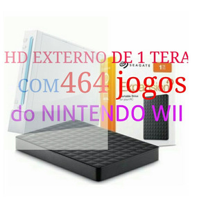 Hd Externo 464 Jogos Para Nintendo Wii