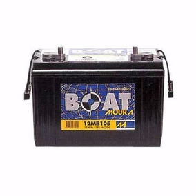 Bateria Para Barco - Moura Boat 105ah