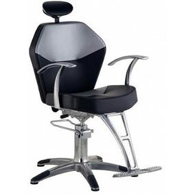 Cadeira Cabeleireiro Romana Reclinável Dompel - Encomenda