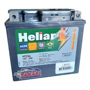 Bateria Moto Heliar Htz6 5ah Honda 125/150 Biz/fan/cg/bros
