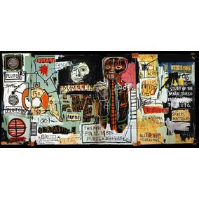 Lienzo Tela Canvas Arte Grafiti Jean-michel Basquiat Notary