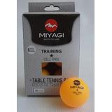 Bolas Ping Pong Tenis De Mesa Miyagi Caja 6 Und Training