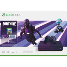 Consola Xbox One S Fortnite Battle Royale Ed. Especial 1 Tb