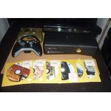 Xbox 360 Slim 4 Gb Ram+ Kinect +2 Controles + Juegos
