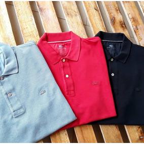 Camisa Lacostes Original - Pólos Manga Curta Masculinas no Mercado ... b3b57328413