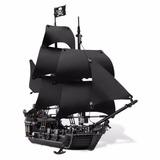 804 Unds Piratas Del Caribe Perla Negra Compatible Lego 4184