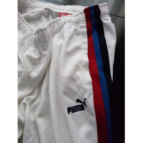 Pants Puma De Lujo Talla Grande Con 3 Franjas
