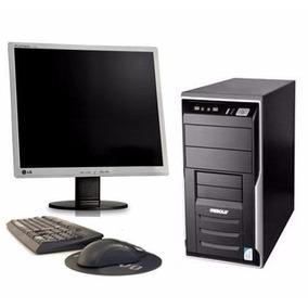 Cpu Completa+monitor+teclado E Mouse*super Promoção*