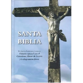 Biblia Reina Valera Con Catecismo Lutero - Letra Grande T/d