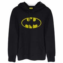 Blusa De Moletom Batman Logo Oficial Bandup!