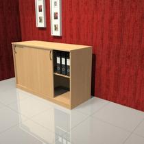 Biblioteca Baja 1.20 Escritorio Mueble Oficina Su-office