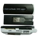 Adaptador Multi-card Reader - Sdhc Support 6 Em 1 Usb A0984