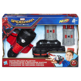 Spiderman Nerf Lanzador De Recarga Rapida Hasbro B9702 Edu