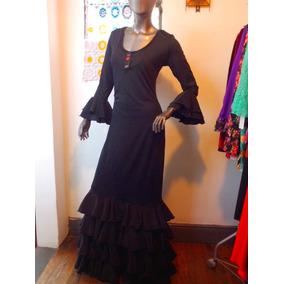 Vestido Flamenco De Lycra Y Koshibo A Lunares A Medida