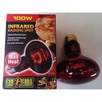 Foco Exo Terra Heat Glo 100w Infrarrojo Foco Calor Reptil