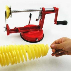 Cortador Fatiador Espeto De Batata Frita Aspiral Chips