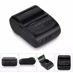 Mini Impressora Portátil Bluetooth Térmica 58mm Recarregável