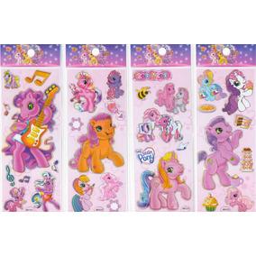 20 Planchas De Stickers Little Pony Peppa Pig Sapo Pepe