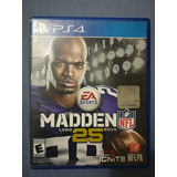 Juego Madden 25 Nfl Ps4 Playstation 4 Usado Perfecto