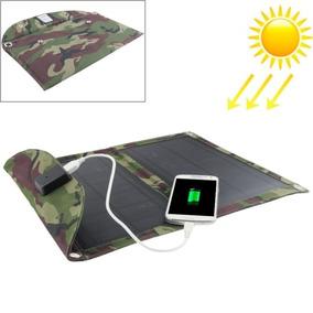 Solar Cargador 10w Panel Portatil Bolsa Para Laptops E