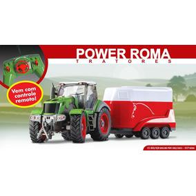 Trator De Controle Remoto Power Roma Haras 1765 -roma