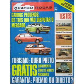 Revista Quatro Rodas Nº 229 Agosto 1979