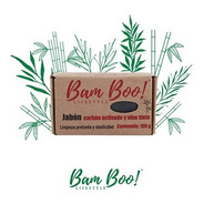 Jabón Carbón Activado Y Vino Tinto Bam Boo! Lifestyle®