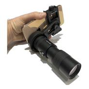 Monocular Shilba  7-17x30mm + Adaptador Para Celular Bak4