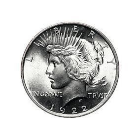 Moneda Dolar 2 Caras Batman Coleccionables Plata Pulida 1922