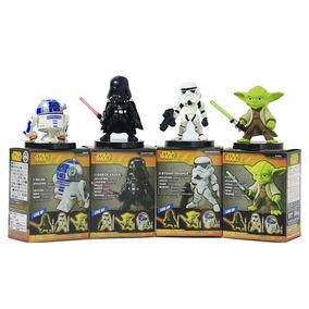Coleção De Bonecos Star Wars - 4 Itens Frete Grátis