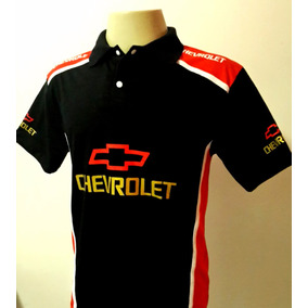 Camisas Camisa Esportiva Gola Polo Masculina Carro Chevrolet