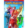 Gibi Combo Rangers: Somos Heróis Fábio Yabue Michel Borges