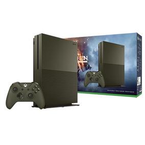 Xbox One S Slim 1 Tb Battlefield 1 Verde C\ 2 Controles